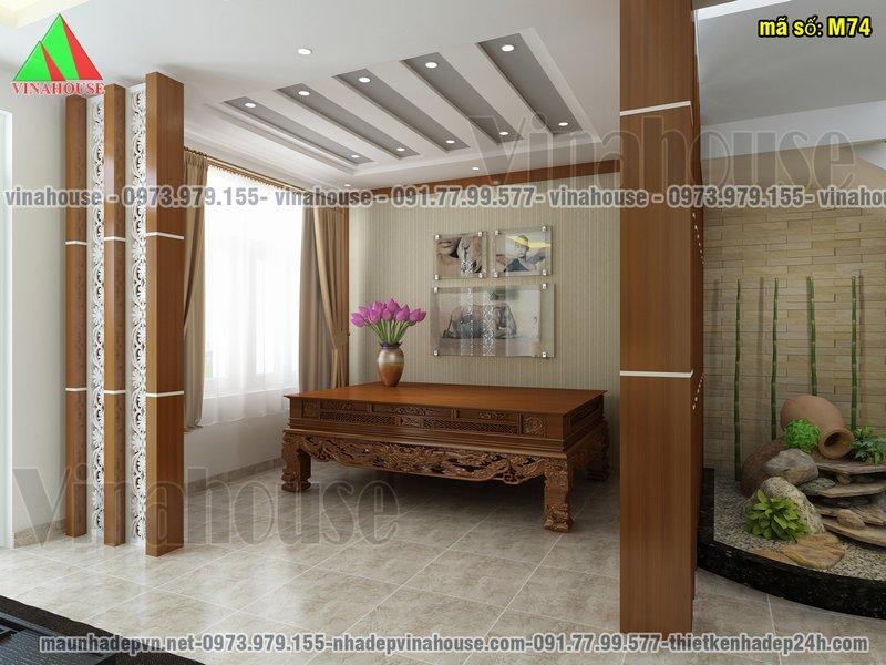 Phòng nghỉ bên cầu thang