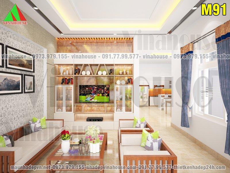 Phòng khách nhà cấp 4