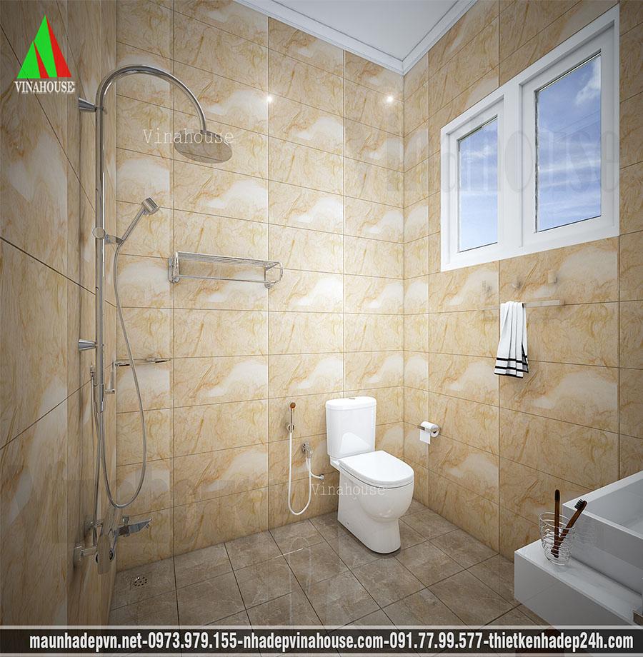 phòng tắm biệt thự vườn nổi bật M148