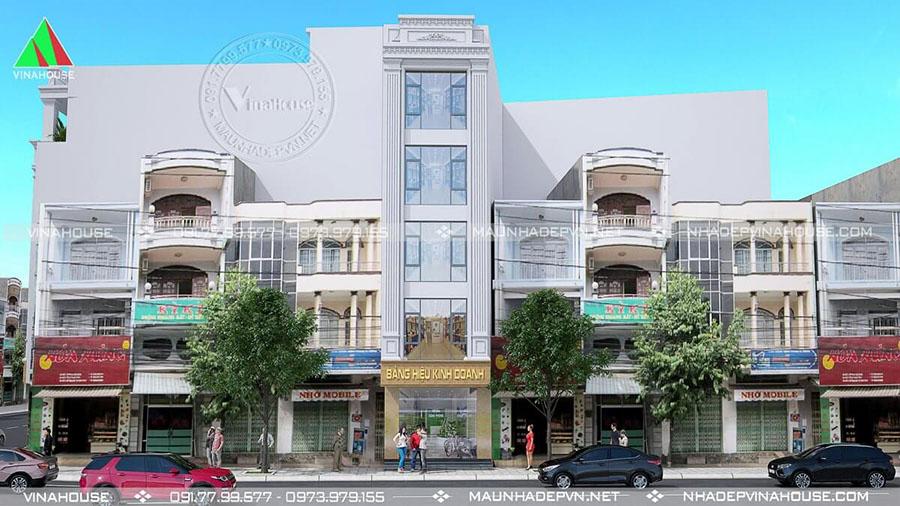 nhà phố 5 tầng ở Vùng Tàu đẹp M220