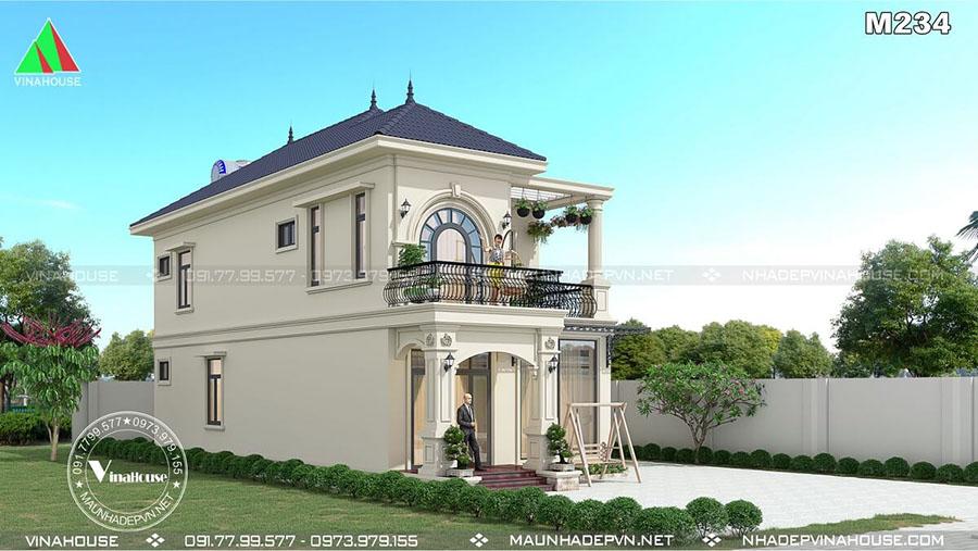 thiết kế biệt thự tân cổ điển đẹp Bình Dương