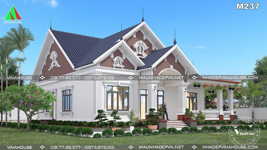biệt thự vườn tại Bình Phước đẹp M237